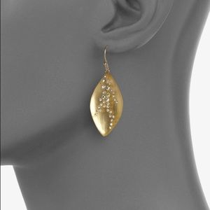 Alexis Bittar Swarovski Crystal Lucite Earrings